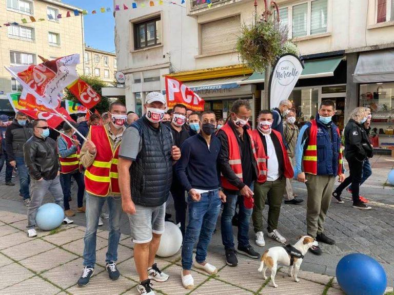 Manifestation Interprofessionnelle du 17 Septembre à  Boulogne Sur Mer